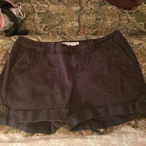 Black military style short 16
